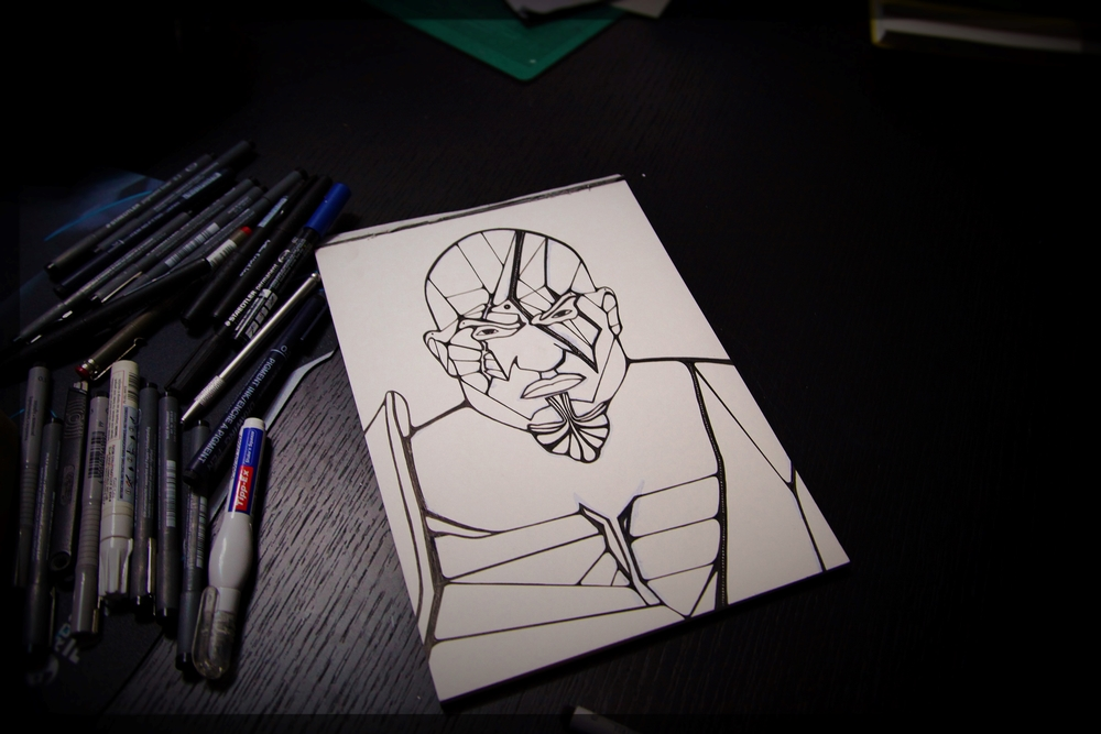 Kratos - God of War   F  an Art work     http://instagram.com/p/tF2OyytDUh/?modal=true    Kratos - God of War -  F  an Art work    http://instagram.com/p/tF2OyytDUh/?modal=true  Kratos - God of war /black &white version. Progress. #god #godofwar #illustrator #illustration #penandink #inkandpen #abstract #artist #art #fanart #kratos #SCE #santaMonicaStudios #raw #vector #jammycreamer #ink
