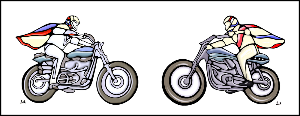 Evel Knievel 2016 motorbikes