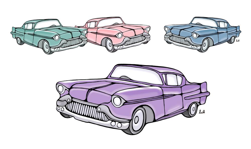1955 Cadillac Fleetwood  Jammy Creamer