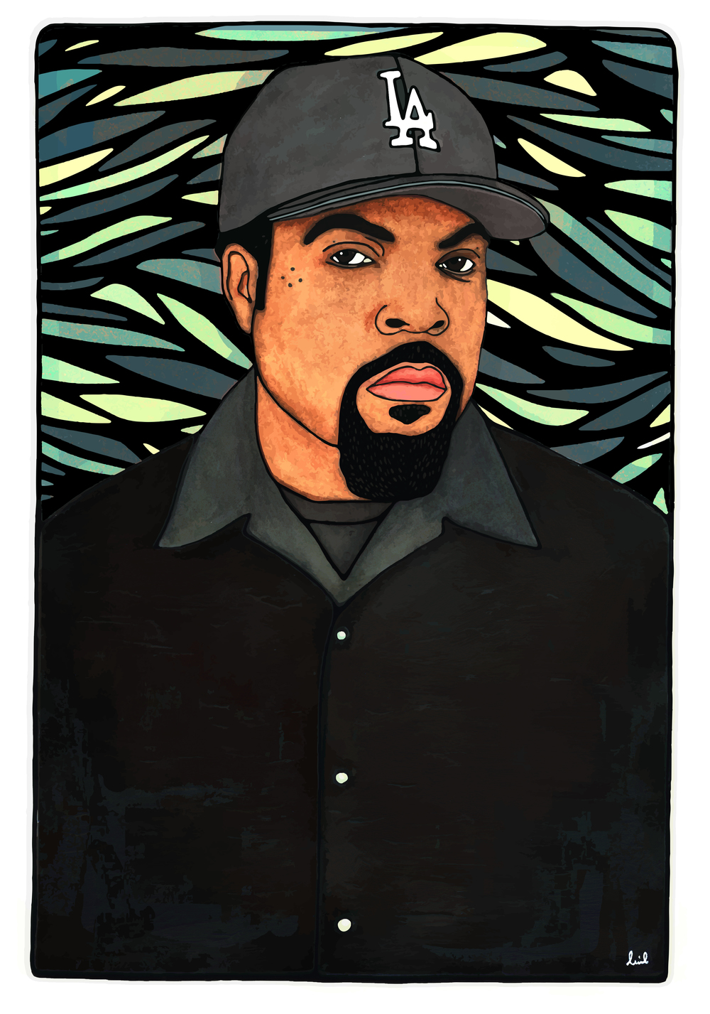 Ice Cube 2016 Portrait