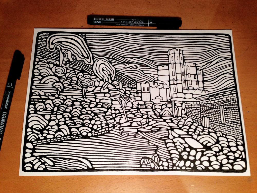 Castle Garden 2016 / Sketch