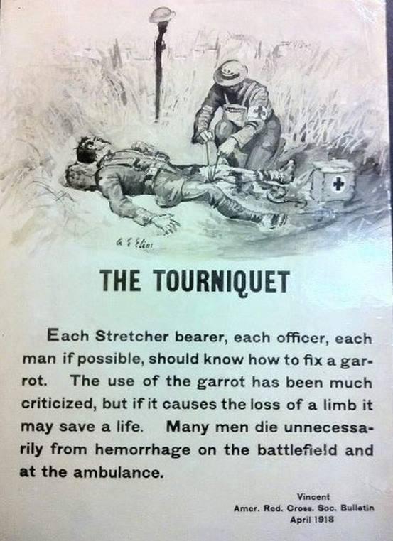 Tourniquet poster