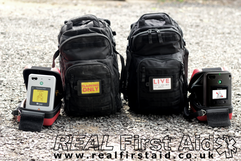 Live and Training AED