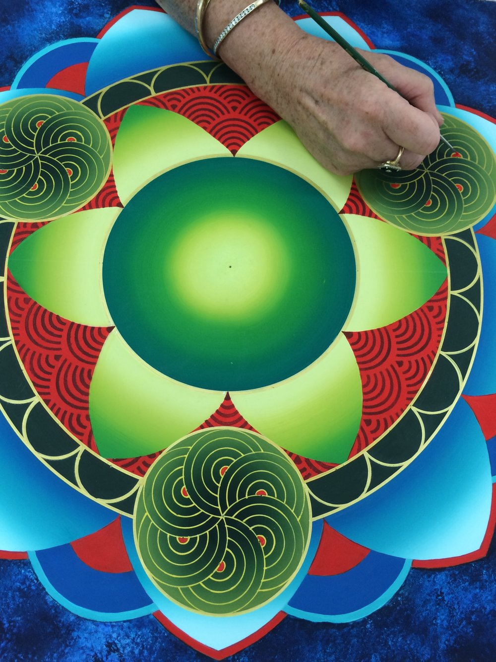 CREATIVITY AND CREATING A MANDALA. — EVENTS