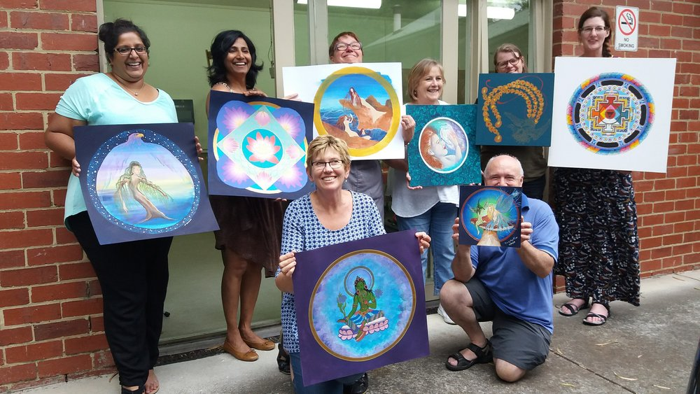 Share the Magic - Become a Mandala Facilitator