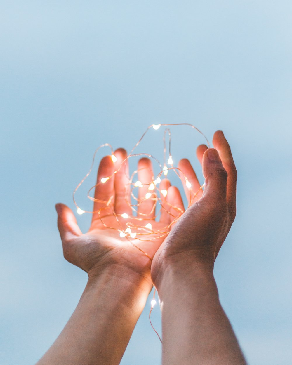 Its all in your hands - Tap into health and well being.