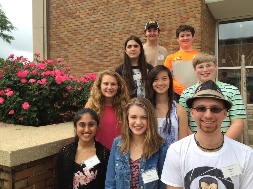 (from top row, left to right): Samuel Williams, Doyce Cooper, Uriah Jenkins, Hannah Houston, Rebecca Chen, Hunter Fletcher, Sophia Ali, Haley Watts, and Nathan Gardner.