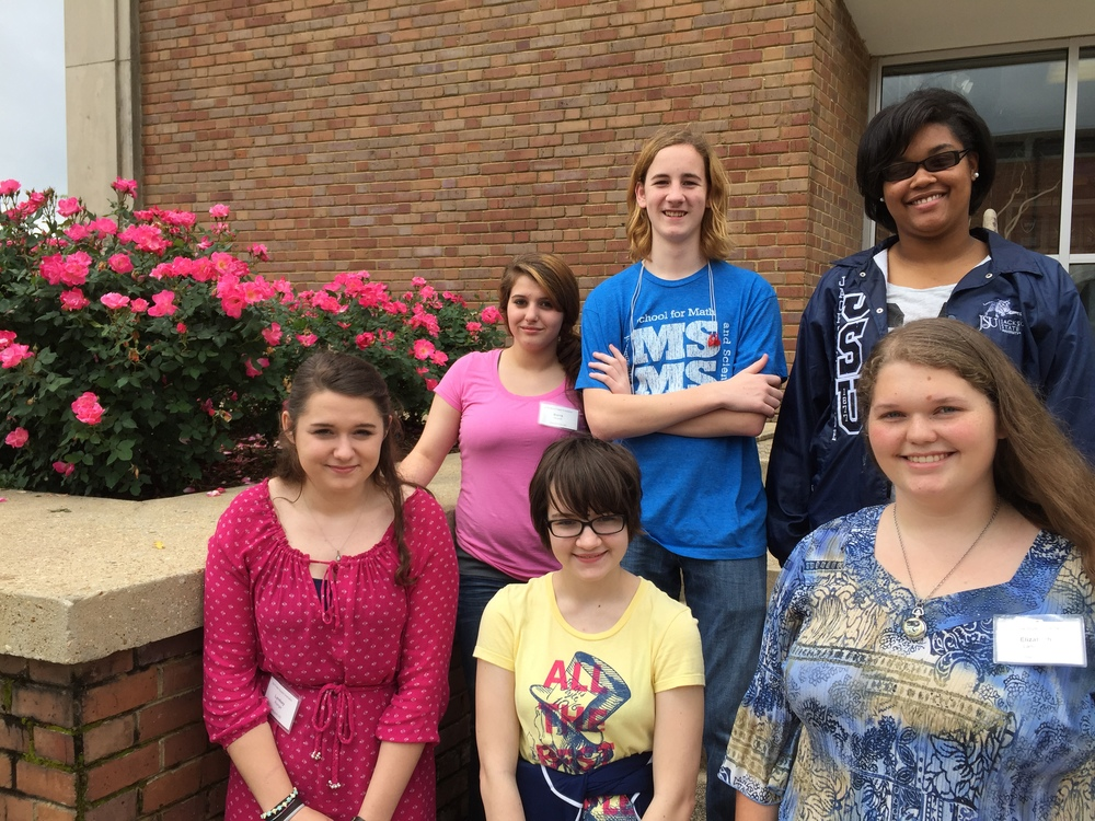 (from top row, left to right): Sierra Howell, Paul Autonberry, Erica Sims, Lindsey Risinger, Elizabeth Klien, and Bri Lancaster.