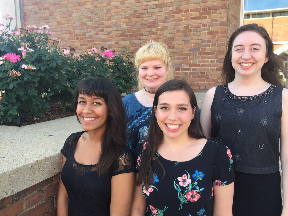 Veronica Miniard, Rebeckah Mardis, Nikki Gary, and Mary Frances Holland.