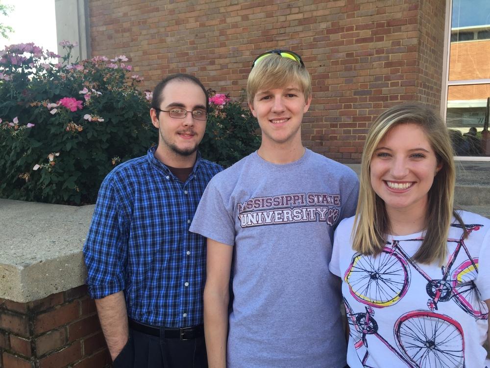 Joseph Scott, Brandon Crane, and Eliza Barrow