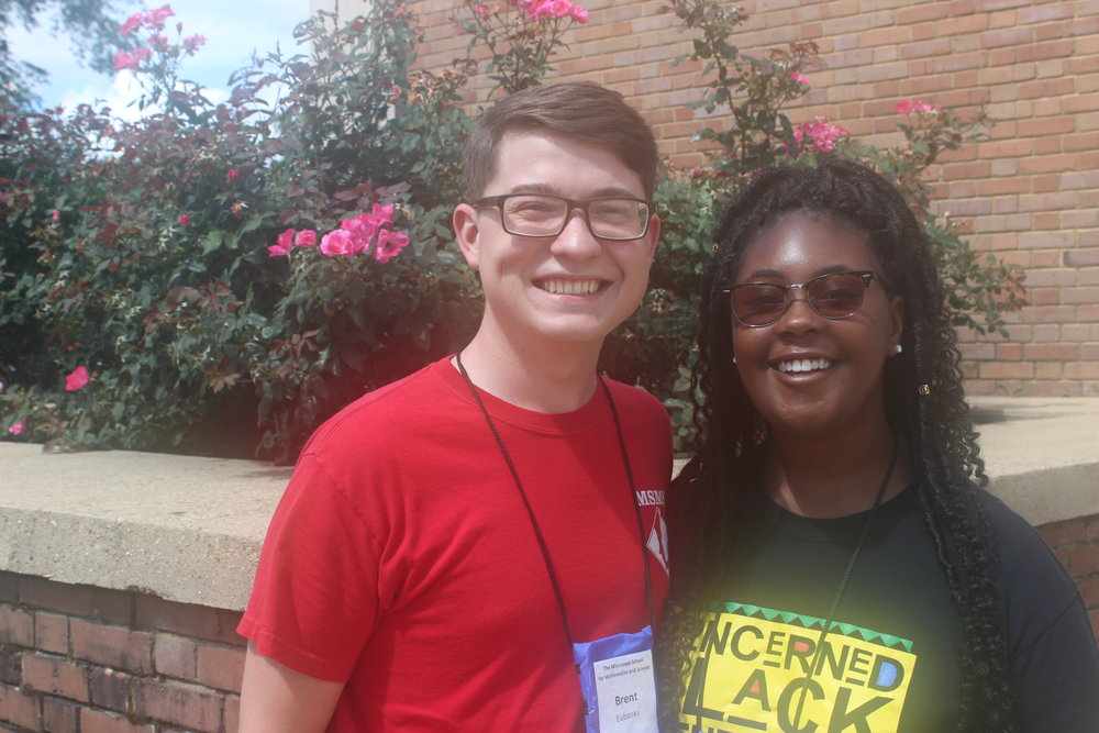 MSMS Summer Enrichment Camp Assistant Directors, Brent Eubanks and Madison Wardlaw