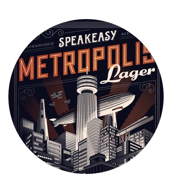 Speakeasy Metropolis Lager