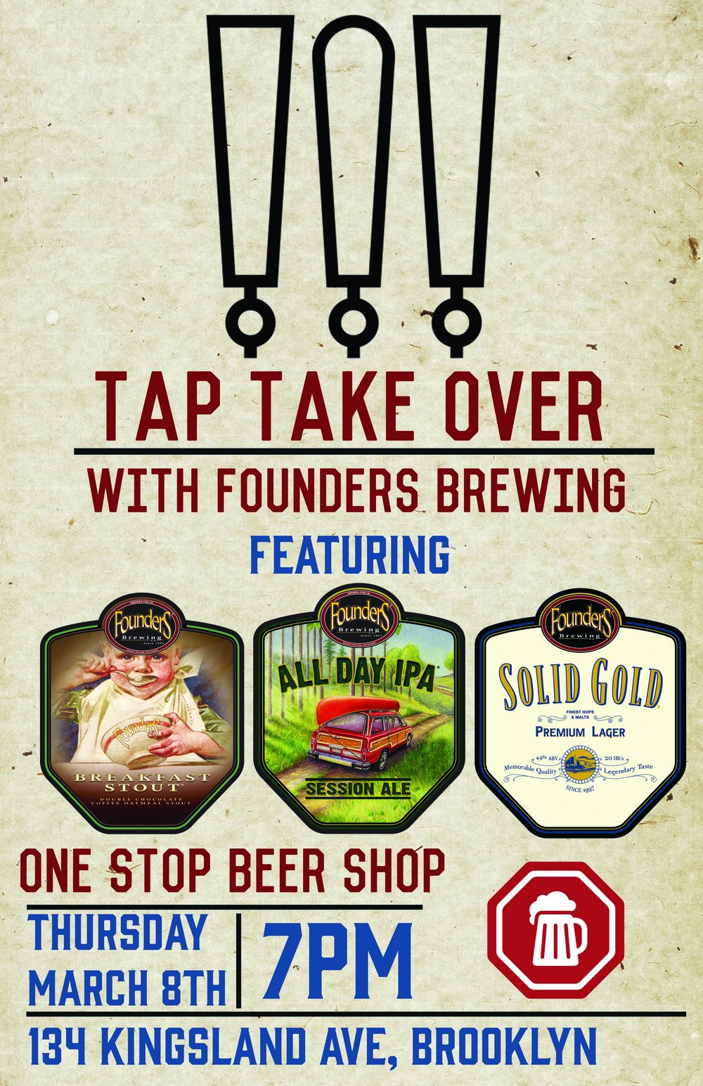 ONE STOP BEER SHOP_ FOUNDERS TAP TAKE OVER.jpg