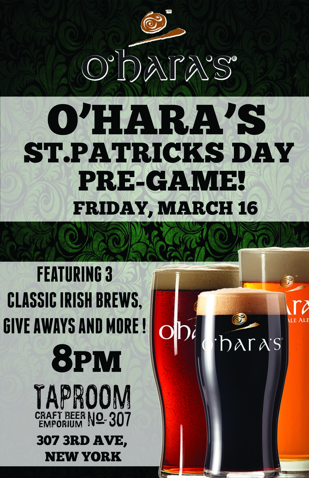 TAP ROOM 307_OHARAS ST PATS PRE GAME.jpg