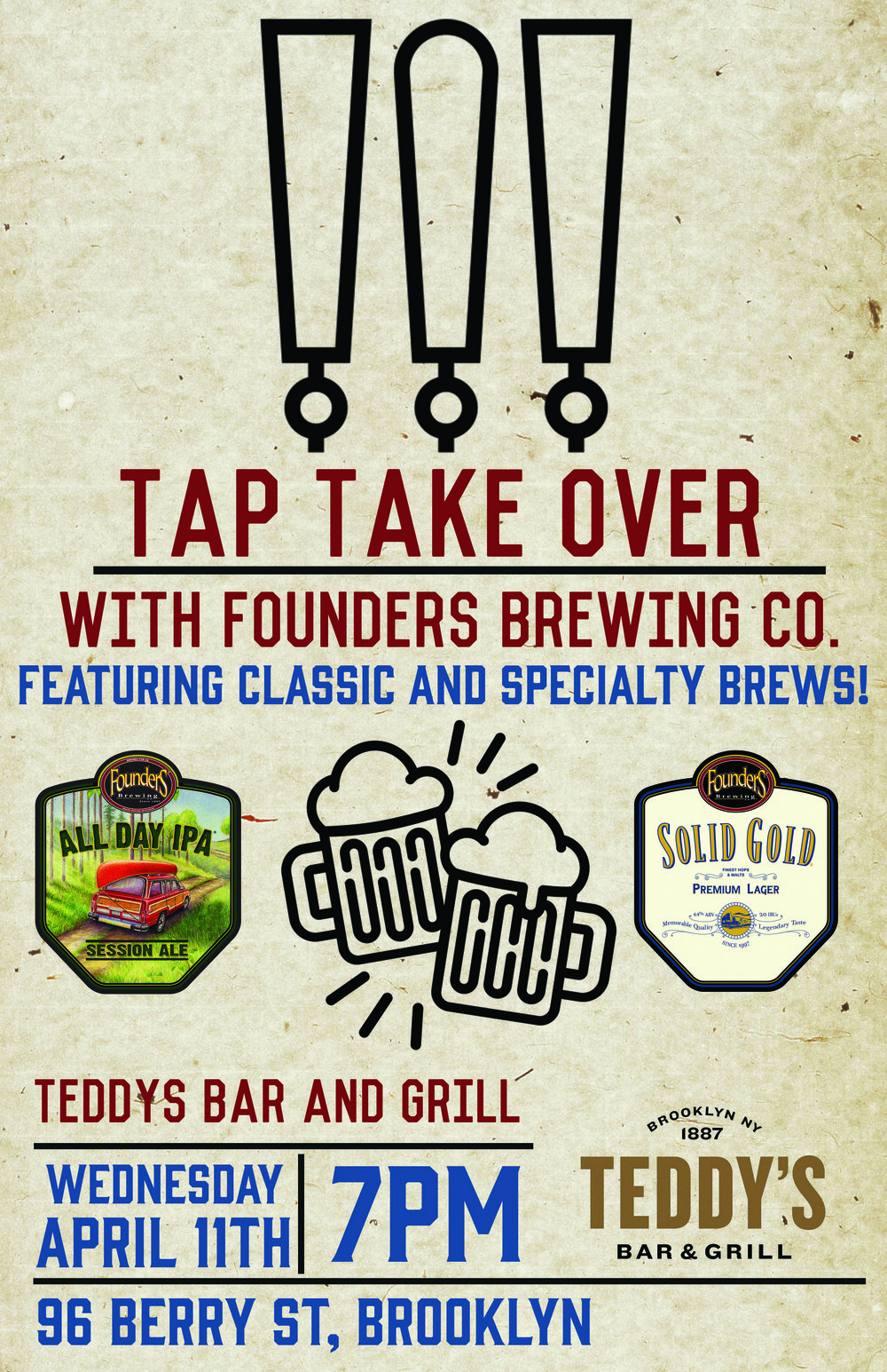 TEDDYS BAR AND GRILL _ FOUNDERS TAP TAKE OVER.jpg