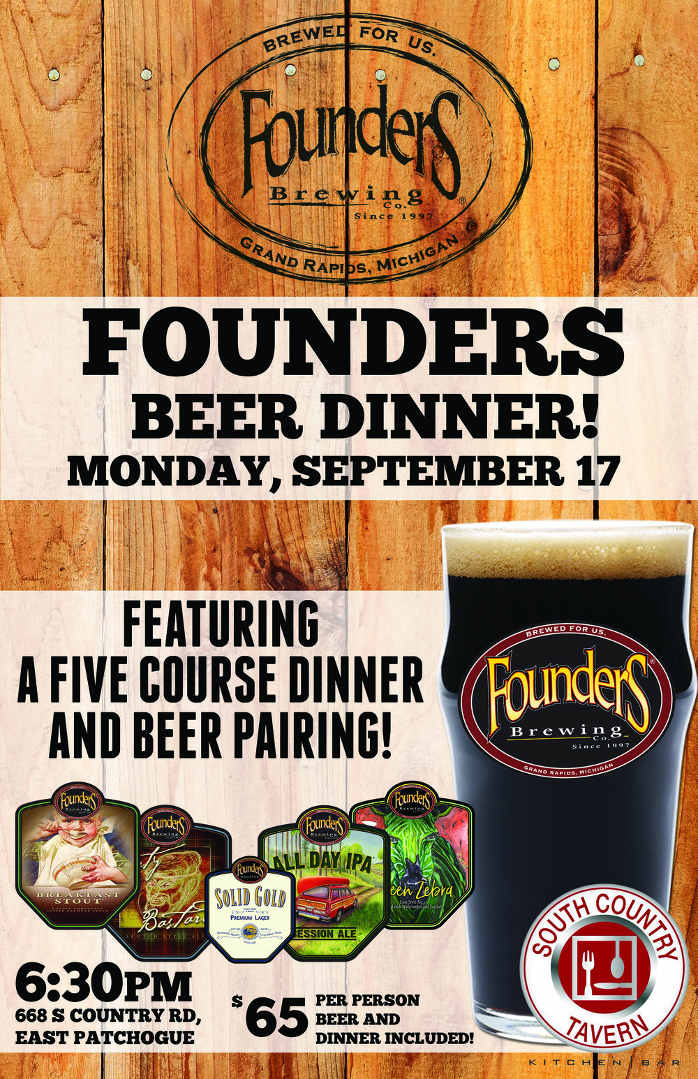 SOUTH COUNTRY TAVERN_FOUNDERS BEER DINNER.jpg