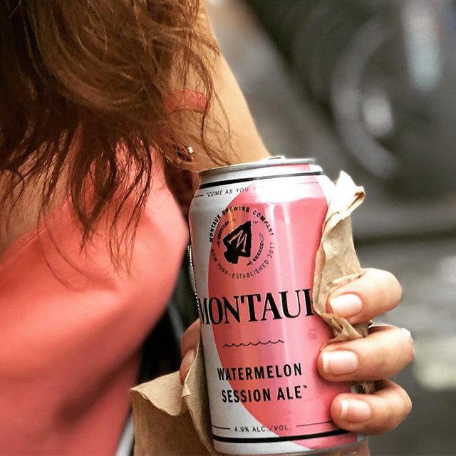 Montauk watermelon..Your perfect match for summer! 🍻🍉🌞 @montaukbrewco . . . . #beer #montauk #montaukbrewingcompany #montaukbeer #lighthouse #nyc #nyccraftbeer #longislandbeer #theend #nycbeerevents #beerdistributor #longislandlocal #beersnob #matchymatchy #ootd #extra #watermelon #ale #watermelonale