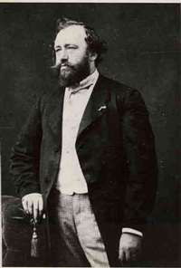 Adolphe Sax   (1814-1894), inventor of the  saxophone
