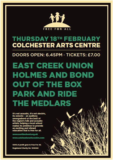 Colchester Arts Centre Poster