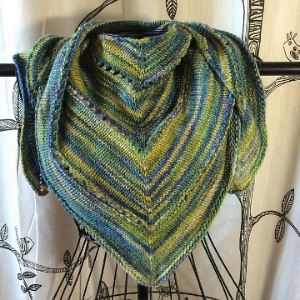 Small kerchief made with Malabrigo Rastita