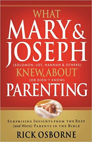 Mary and Joseph's example, plus lessons we can learn from the Bible's other parents, make this a must-have book for moms and dads.