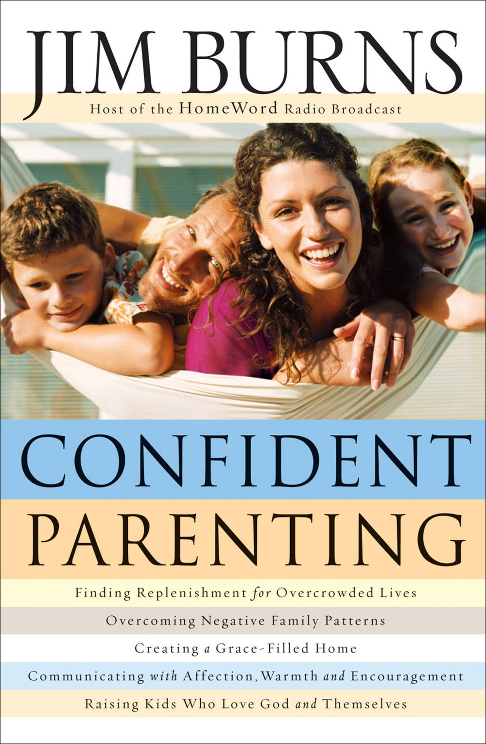 Jim Burns, president of HomeWord, lays a positive foundation for parenting with practical strategies and illustrations, teaching how to create a warm, grace-filled home.