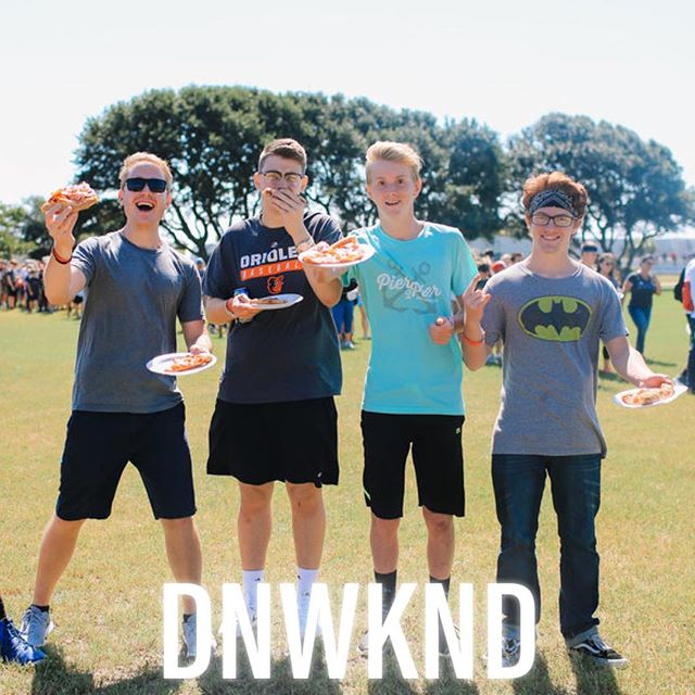 Who loves pizza 🍕 and DNOW??? WE DO!!! Registration for DNOW is now OPEN! We already have less than 100 spots left, so go ahead and sign up✅ before every spot is gone! We can't wait to see you and all of your closest friends there having a blast during this insane weekend!!! #DNOWKND2018 #ScottsHillStudents
