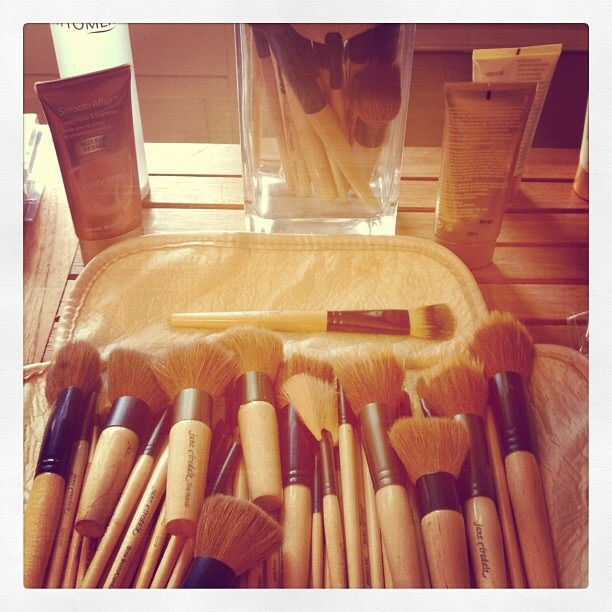 Brushes on Brushes on Brushes