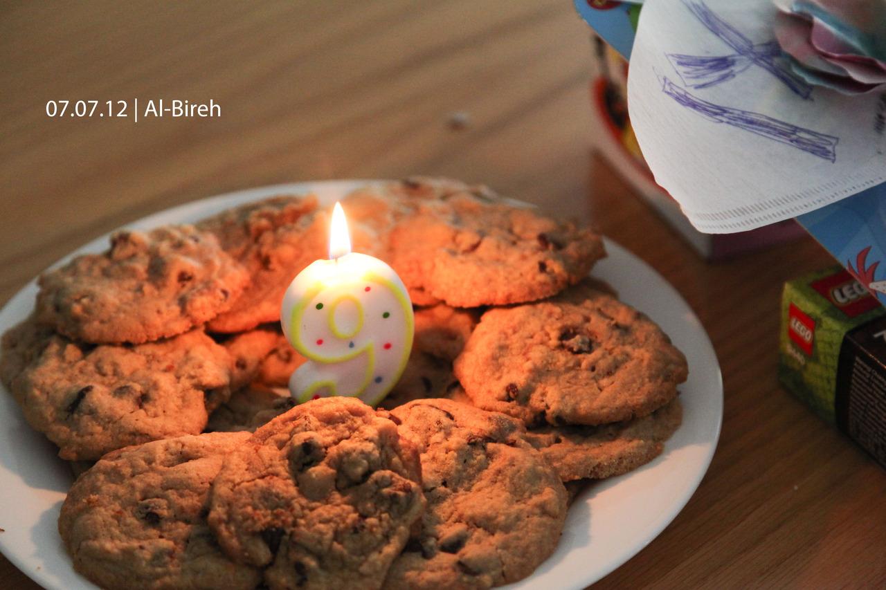 p366, take 129: Birthday cookies