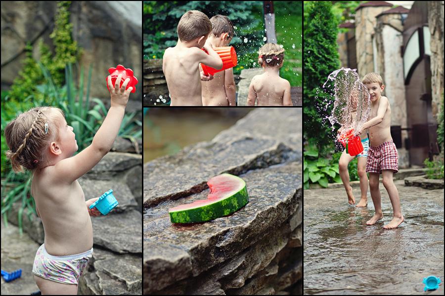 p365, take 153: Muggy day water fun