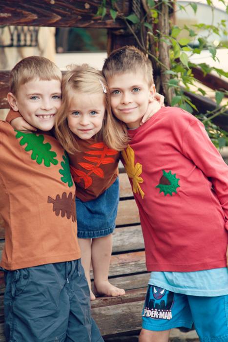 p365, take 146: Muchas gracias, tía Maria! Nos encantan las camisetas!