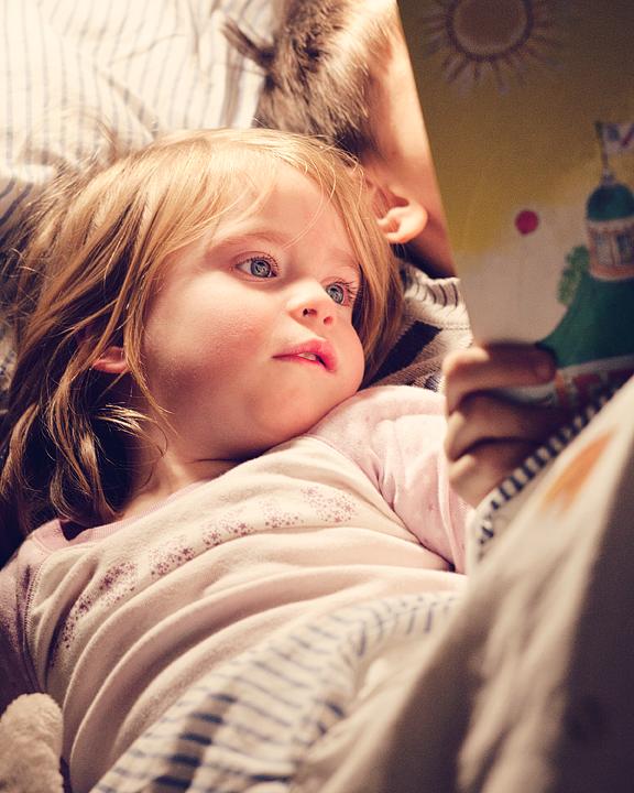 p365, take 64: Bedtime reading