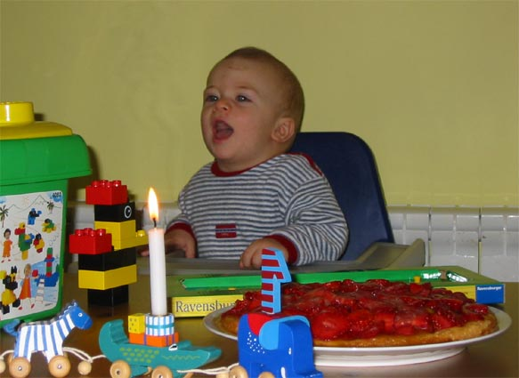 First Birthday in Belgrade, 2003