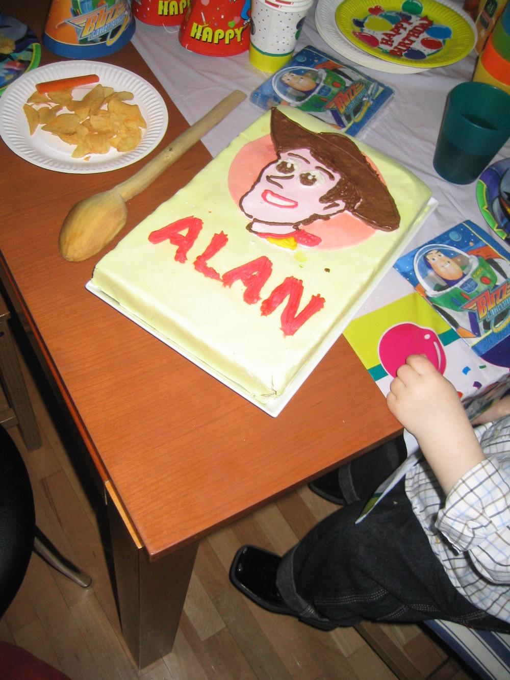 Third Birthday in Bucharest