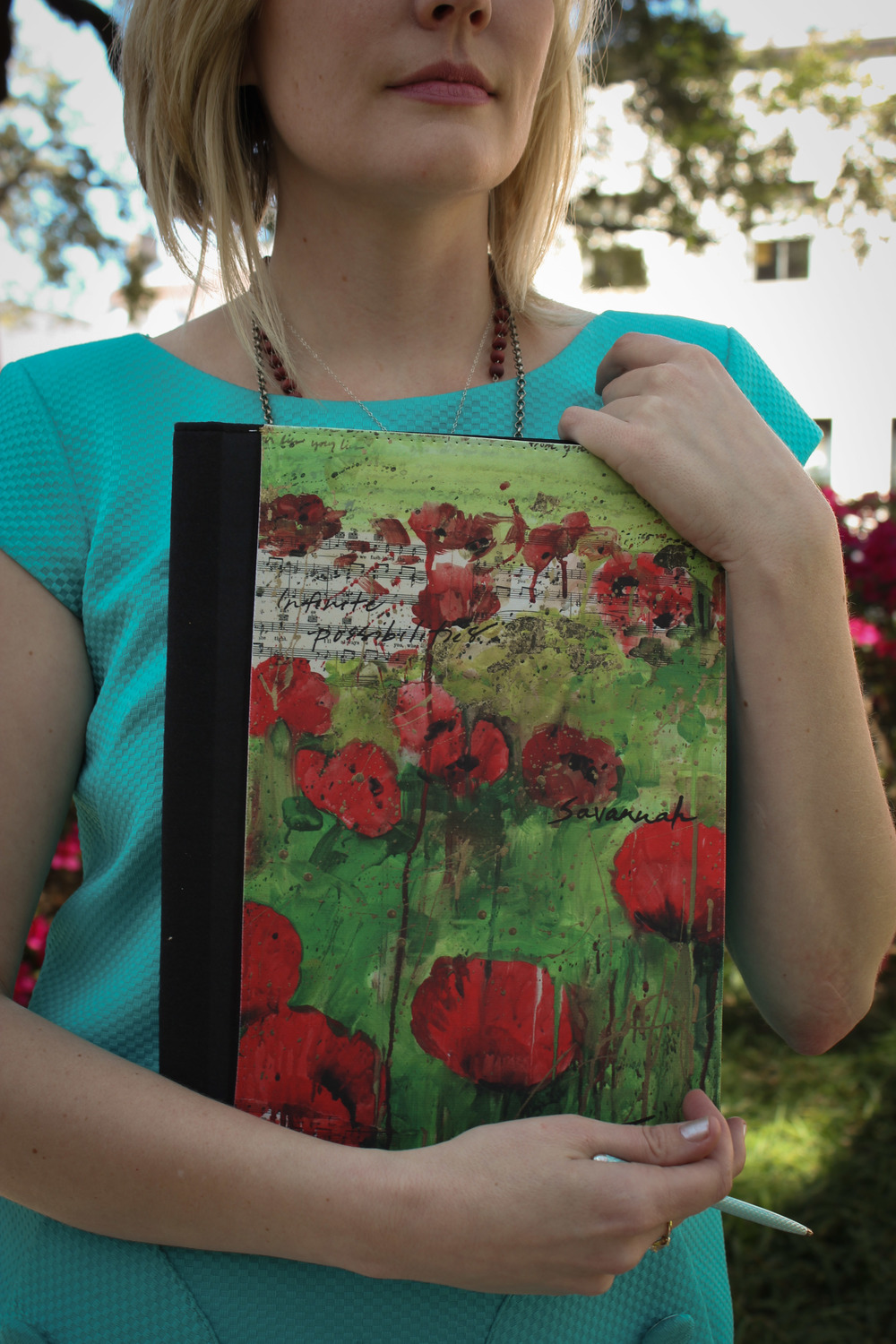 Click Image to Enlarge  -Lifestyle Collection Infinite Possibilities Notebook - Photography by Kelsey Stapleton