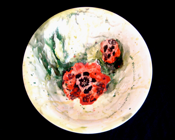 Pottery, Poppy Bowl