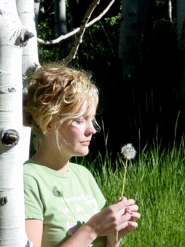 Tiffani in Nature, Inspiration