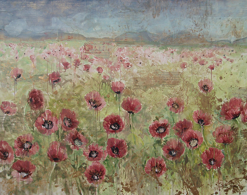 """French Pink Poppies"""
