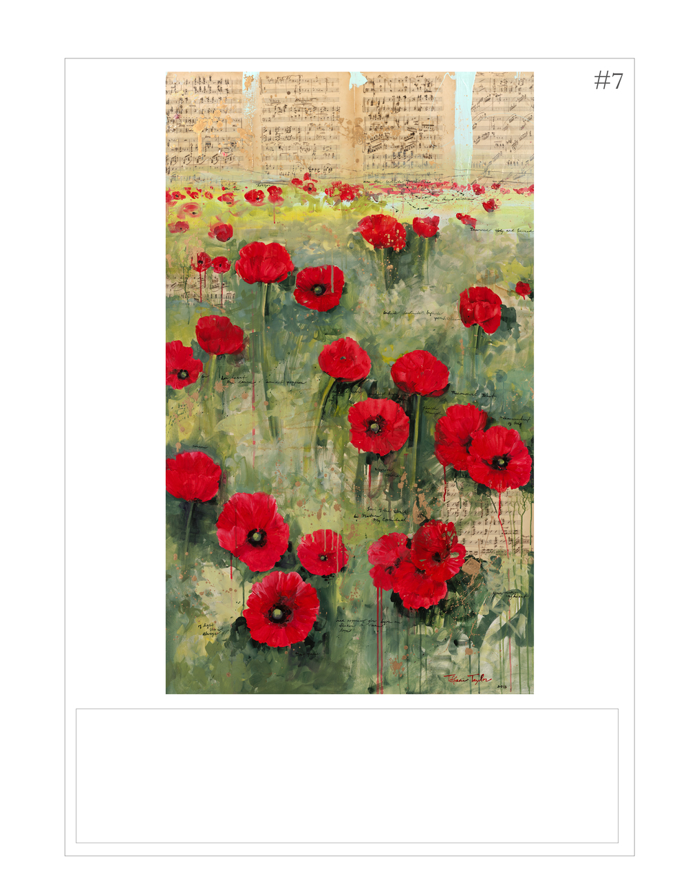 """Red Poppies: Symphony, Infinite Possibilities"""
