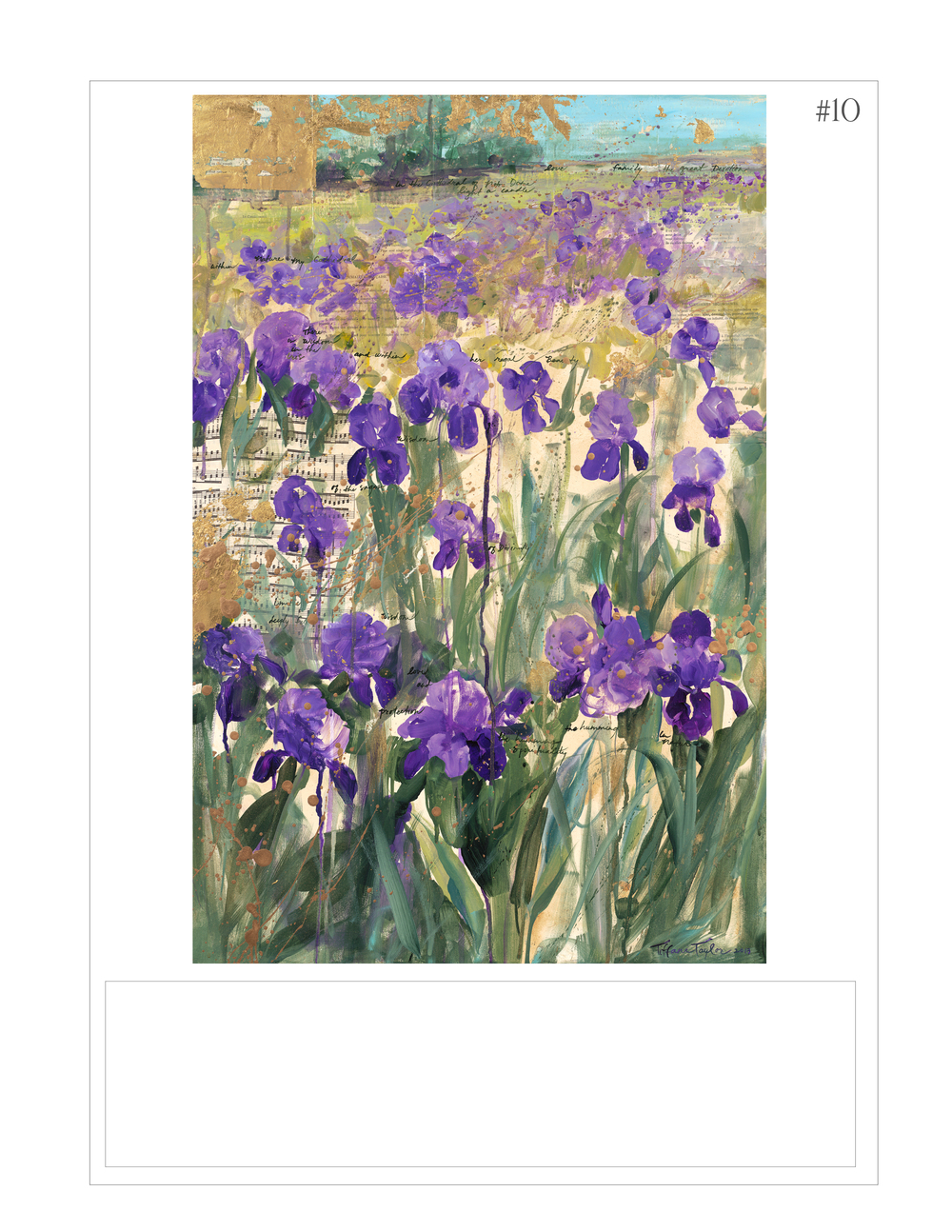 """Wisdom of the Irises"""