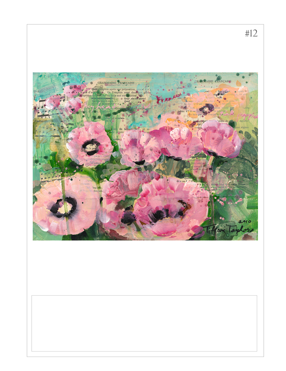 """Francaise: Pink Poppies"""