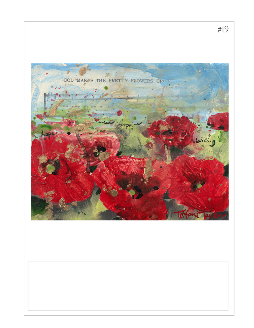 """Red Poppies: Music"""