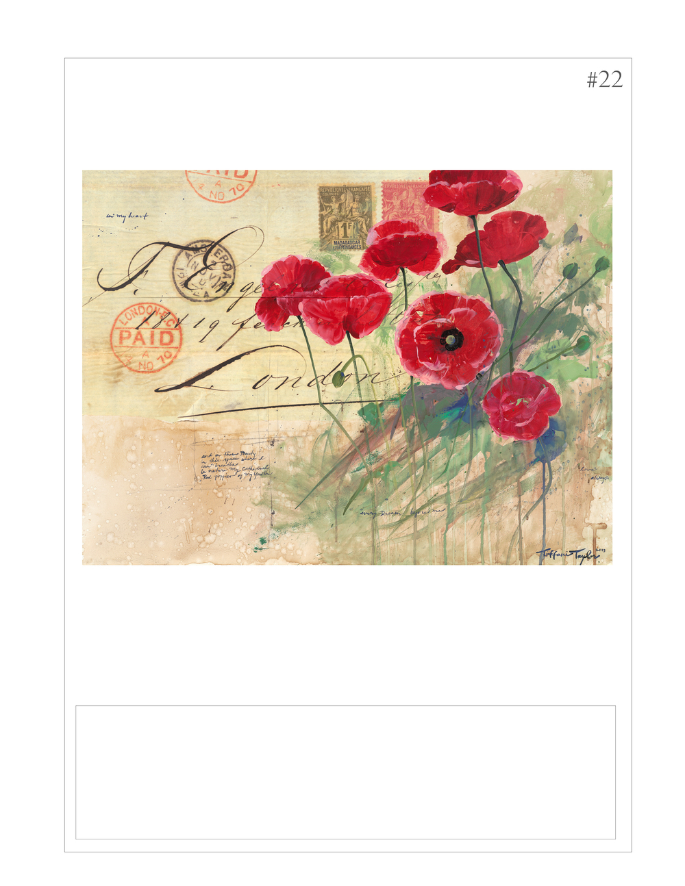 """Red Poppies: Love Letter"""
