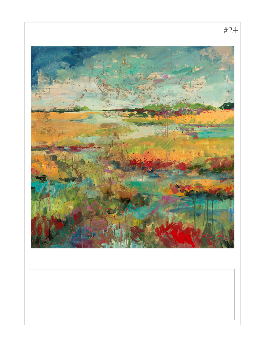 """Expressionistic Marsh II"""