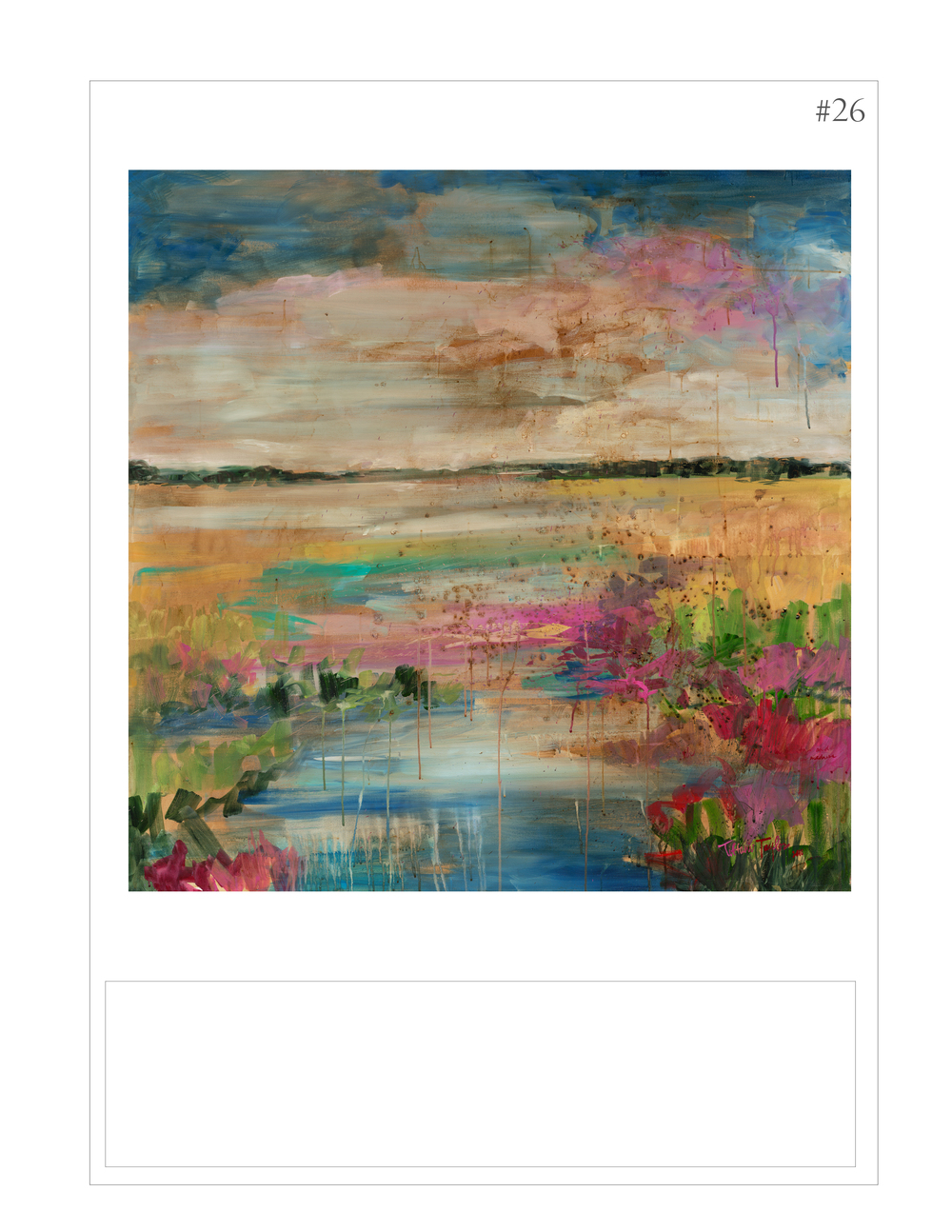 """Expressionistic Marsh"""