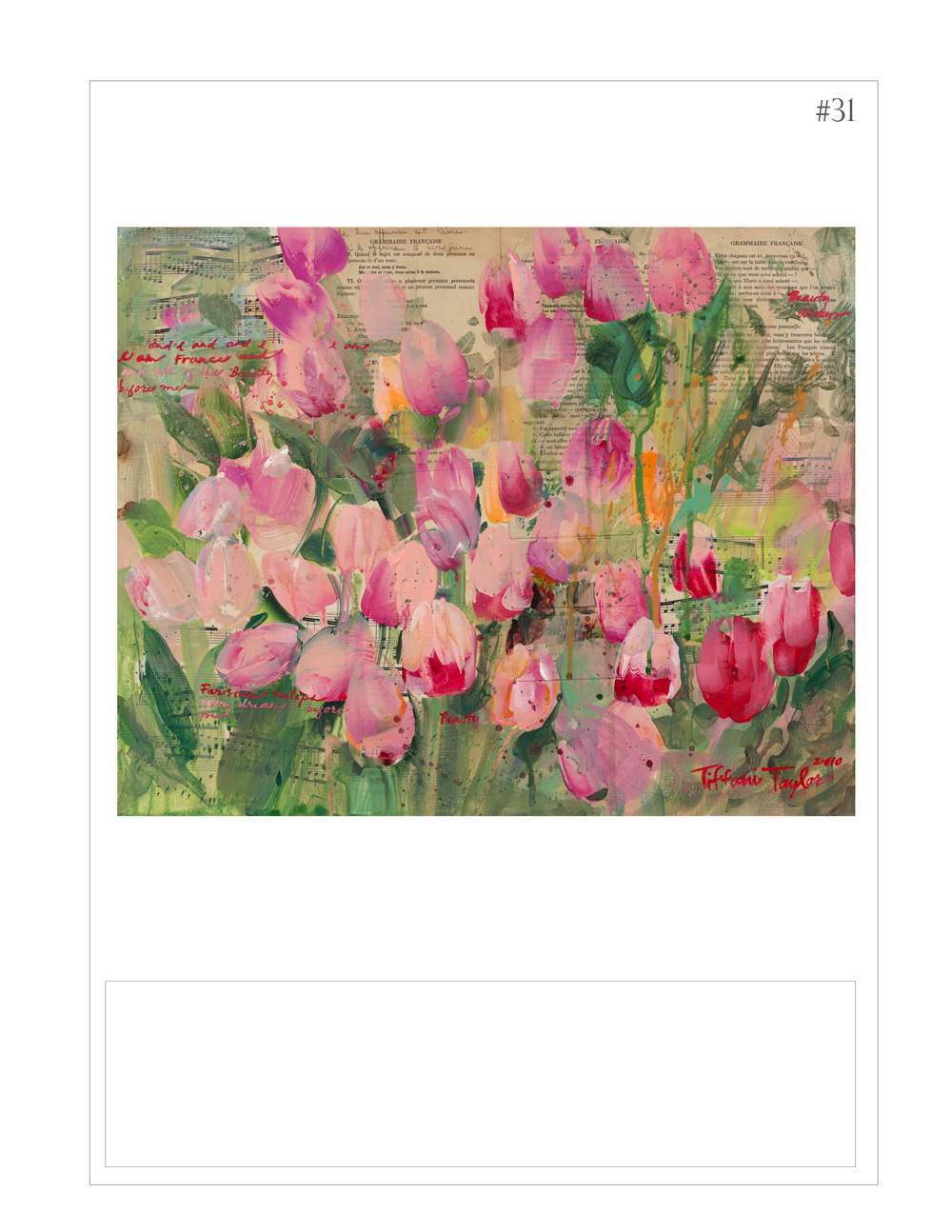 """Parisian Tulips: Manuscripts"""