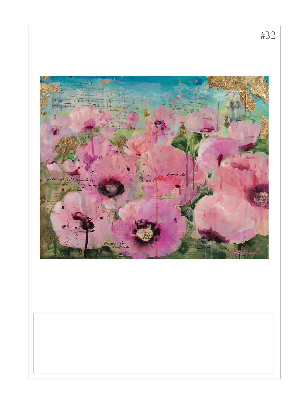 """Pink Poppies: One with Nature"""