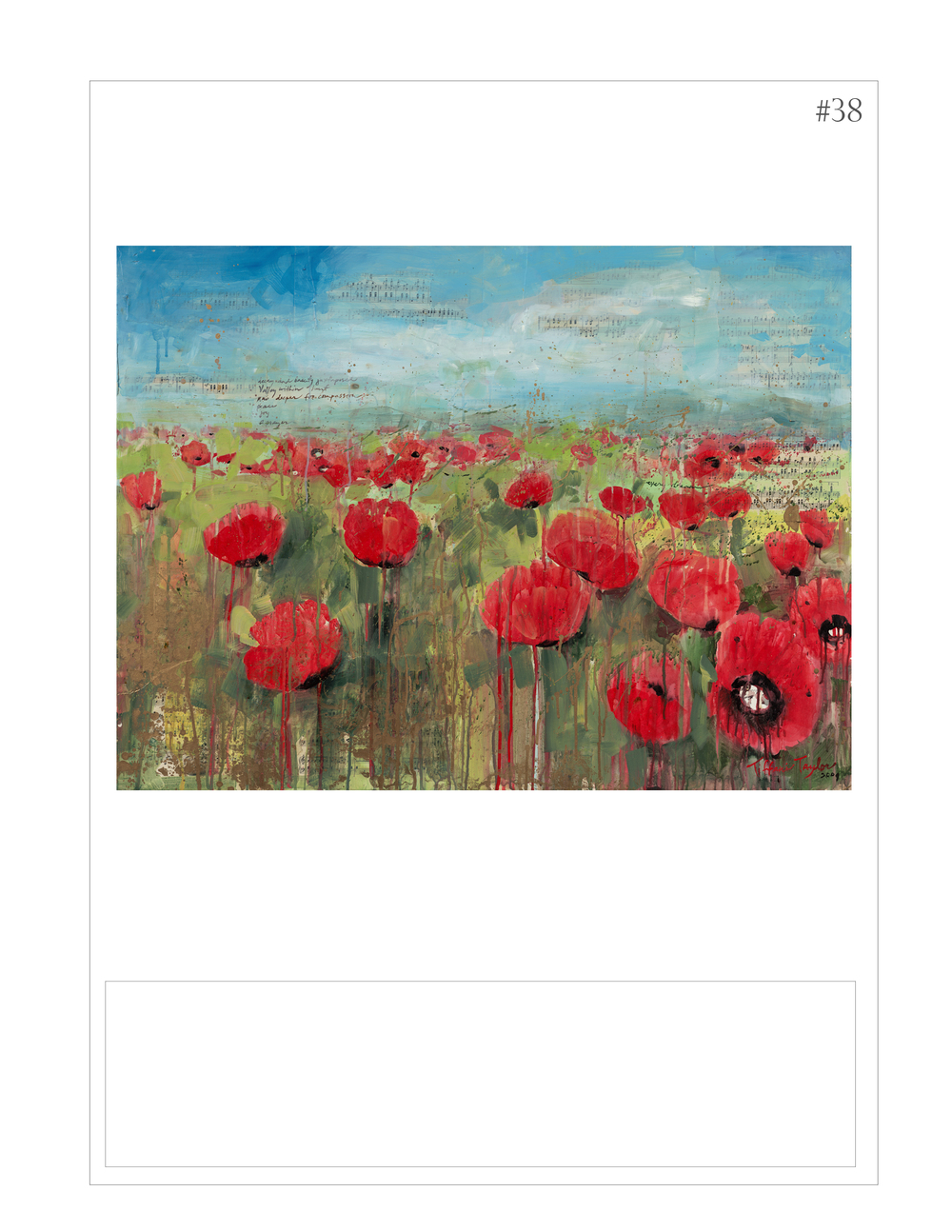 """Red Poppies: Peace, Joy, a Prayer"""