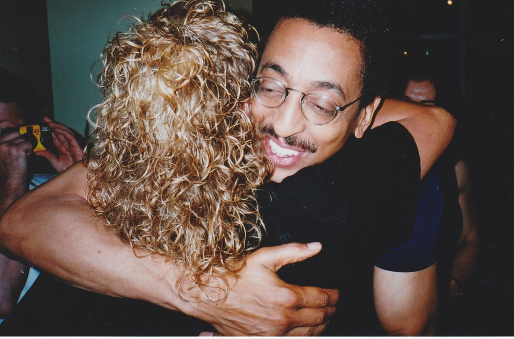 Gregory Hines with Tiffani's Mom and Gallery Curator, Arlene