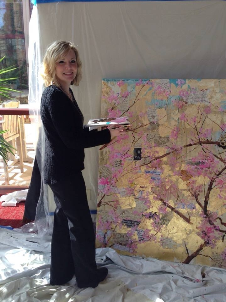 Tiffani at Emory University, Painting in the Permanent Collection of the Ethics Department